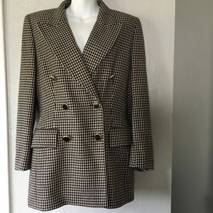 ESCADA MARGARETHA LEY Vintage Cashmere Blazer